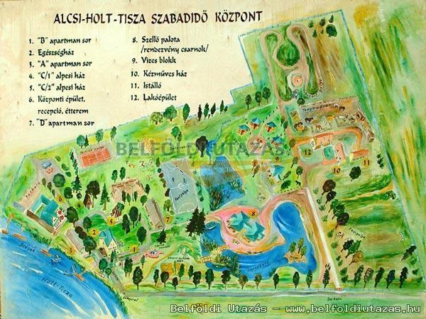 szajol térkép Alcsi Holt Tisza Konferencia  és Szabadidőközpont Klubhotel  szajol térkép