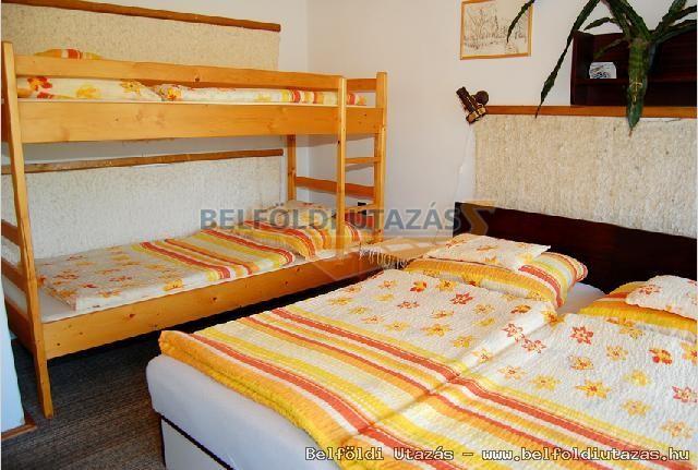 4 személyes szoba