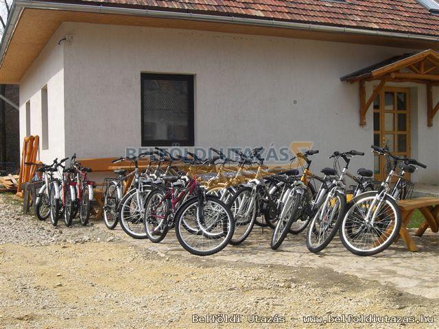 kerékpár kölcsönzési lehetőség