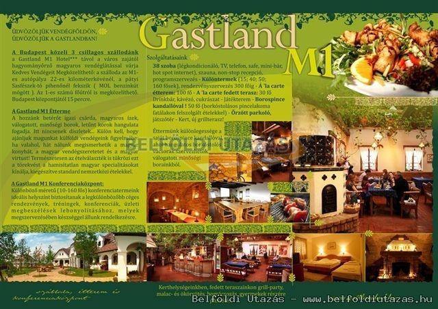 Gastland M1 Hotel*** Étterem és Konferenciaközpont Páty (1)