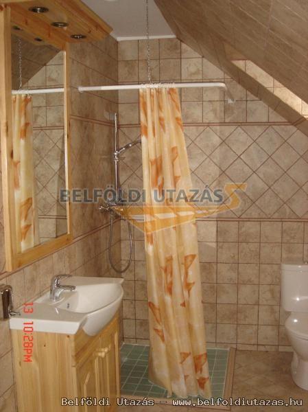 Új szárny szoba zuhanyzója.